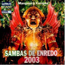 Cd - Carnaval 2003 - Sambas Enredo Rio De Janeiro - Lacrado