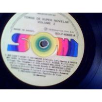 Temas De Super Novelas Vol. 2 1976 - Lp Vinil