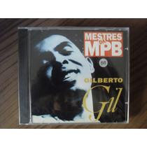 Cd Gilberto Gil Mestres Da Mpb Produto Lacrado