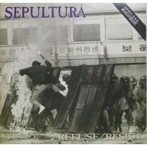 Cd - Sepultura - 1994 - Refuse/resist