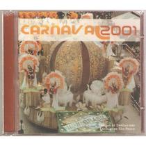 Cd Sambas Enredo Escolas Carnaval São Paulo 2001 ( Lacrado )