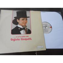 Vinil Gigliola Cinquetti E Io Le Canto Cosi Lp Importado