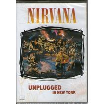 Cd Nirvana - Unplugged In New York - Novo***