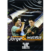 Dvd Jorge E Mateus Ao Vivo Sem Cortes Original + Frete Gráti