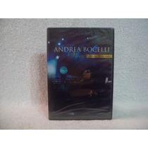 Dvd Andrea Bocelli- Vivere- Live In Tuscany- Lacrado