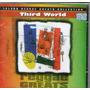 Cd Reggae Greats - Third World - Novo***