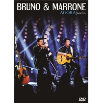 Bruno & Marrone Agora Ao Vivo Dvd+ Cd Lacrado Original