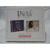 Box Cd Paula Fernandes - Edicao Limitada - 2 Cds (lacrado)