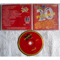 Cd Original - O Melhor Do Forró - 20 Sucessos Vol. 02