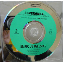 Cd Single Enrique Iglesias / Esperanza Frete Gratis