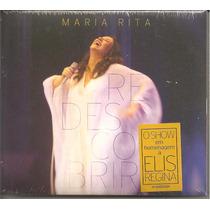 Maria Rita - Redescobrir - Digipack Cd Duplo Lacrado 1ª Ediç