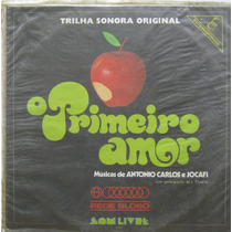 O Primeiro Amor Lp Vinil Trilha Novela Nacional 1972