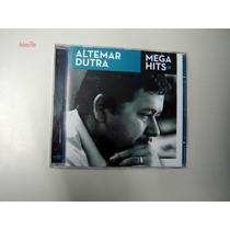 Altemar Dutra Cd Mega Hits Original Novo Lacrado