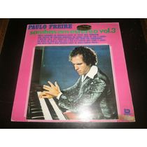 Lp Paulo Freire, Samba Em Estéreo Vol.3, Disco Vinil, 1976