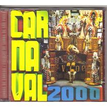 Cd Carnaval 2000, Sambas De Enredo - Seminovo, Original
