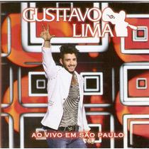 Cd Gusttavo Lima - Ao Vivo Em São Paulo - Novo***