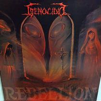 Genocidio 2001 Rebellion Lp Com Encarte Vinil Dourado