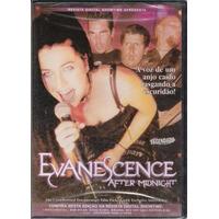 Evanescence After Midnight Dvd Lacrado - Raro - Legendado