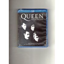 Blu Ray - Queen - Days Of Our Lives Lacrado ! Frete 5,90.