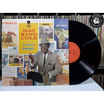 Lp Nat King Cole A Meus Amigos Jazz Blue - Veja O Video - Bf