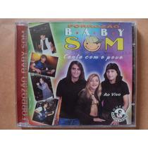 Forrozão Baby Som- Cd Canta Com O Povo/ Ao Vivo- 1998