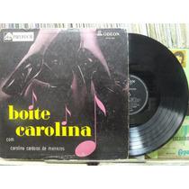 Carolina Cardoso Piano Ritmo Boite Carolina Lp Odeon 1957