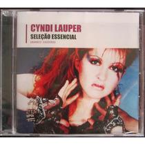 Cd Cyndi Lauper Seleção Essencial