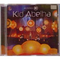 Cd - Kid Abelha - Acústico Mtv. - Novo E Lacrado.