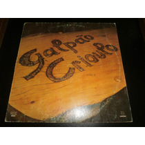 Lp Galpão Crioulo - Volume 4, Disco De Vinil, Ano 1987