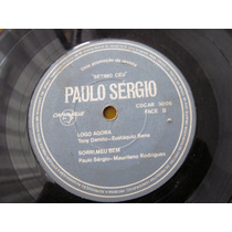 Compacto Single Paulo Sergio Revista Setimo Ceu 1968