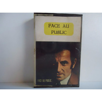 Fita K7 Charles Aznavour - Face Au Public -by Trekus Vintage