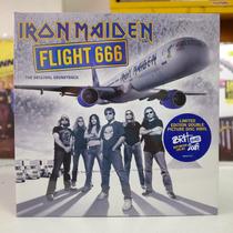 Iron Maiden Flight 666 Disco Duplo Vinil Metal Picture Disc