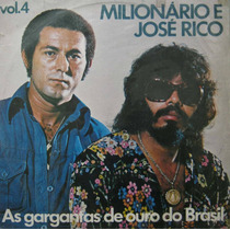 Milionario E José Rico - Lp Vinil Vol. 4 - Sertanejo 1977