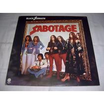 Lp Black Sabbath - Sabotage ( Clássico)
