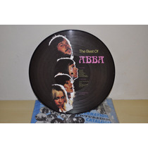 Picture Disc The Best Of Abba - Importado - Perfeito
