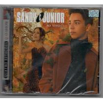 Cd Sandy & Junior - Ao Vivo - Quatro Estações - Lacrado