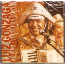 Luiz Gonzaga Ao Vivo Volta Pra Curtir Cd Original Lacrado