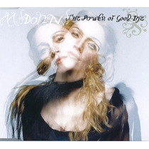 Madonna The Power Of Good-bye Single Cd Importado