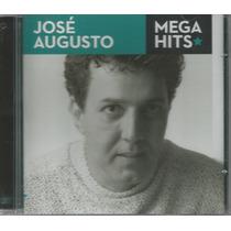 Cd - José Augusto - Mega Hits - Lacrado