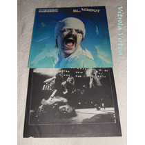 Lp Scorpions Blackout Mercury Made In Usa Encarte