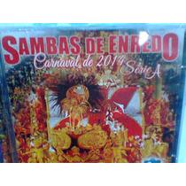 Cd Samba Enredo @ Rio 2014 Série A -lacrado- Frete Grátis