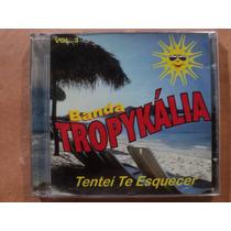Forrozão Tropykalia- Cd Tentei Te Esquecer- 2000- Original!