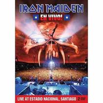 Dvd Duplo Iron Maiden - En Vivo! (lacrado)