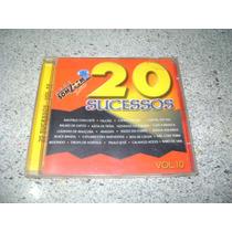 Cd - Som Zomm Sat 20 Sucessos Vol.10 Coletanea De Forro