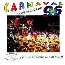 Cd / Sambas Enredo Carnaval 1996 São Paulo