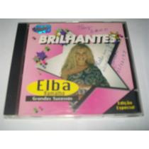 Cd Elba Ramalho - Brilhantes (grandes Sucessos)