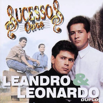 Cd Duplo - Leandro & Leonardo - Sucessos De Ouro