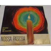 Lp Vinil Paulinas Nossa Pascoa Antigo Raro Mt Bom Calc Frete