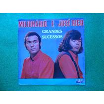Lp Milionário E José Rico P/1979- Grandes Sucessos