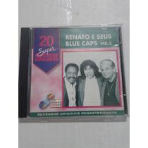 Vendo Cd Original - Renato E Seus Blue Caps - 20 Sucessos 3